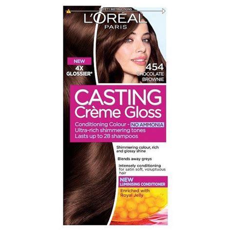 Hair Manicure Loreal l oreal creme gloss hair colour 454