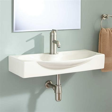 www bathroom choosing the best narrow bathroom sinks
