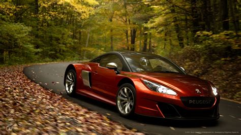 peugeot sports car peugeot rcz gr 3 road car n500 gran turismo sport