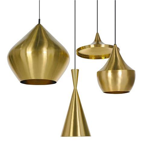 Tom Dixon Pendant Lights Tom Dixon Beat Brass Suspension Light Tom Dixon Design