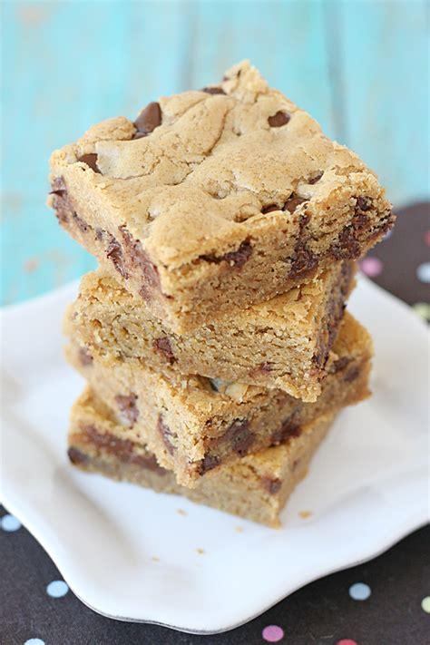 peanut butter cookie bars glorious treats