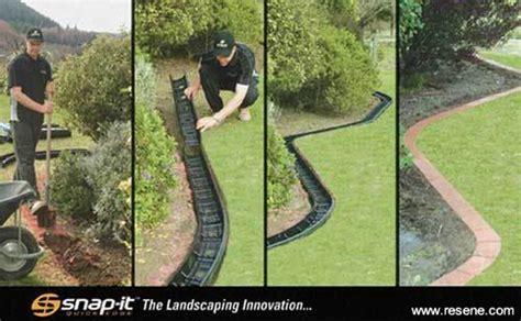 Snap It Landscape Edging Kit What S New From Resene Paints Snap It Exterior Concrete