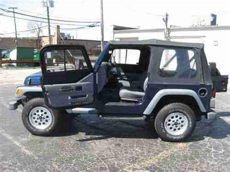 1997 Jeep Wrangler Soft Top Find Used 1997 Jeep Wrangler Se Sport Utility 2 Door 2 5l