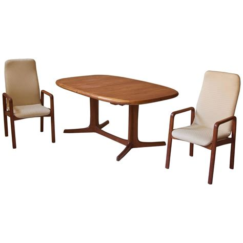 teak dining room set danish teak dining set at 1stdibs