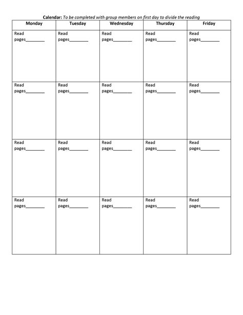The Lit Calendar by Literature Circles Loving Learning