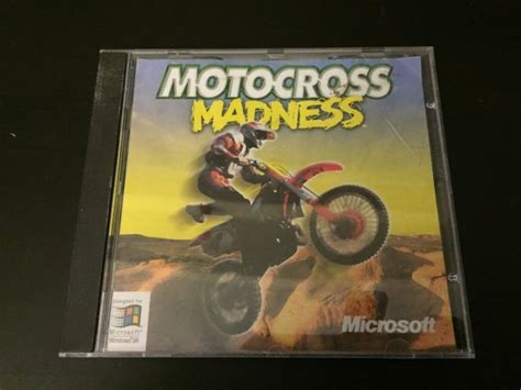 microsoft motocross madness microsoft motocross madness pc cd cd rom for sale in