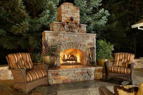outdoor wood burning fireplace plans 30 ideas for outdoor fireplace and grill