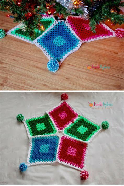 crochet christmas tree skirt patterns 10 crochet tree skirt free patterns knit and crochet daily