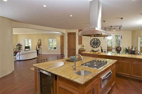 kitchen island cooktop touches of montclair contemporary will awe and