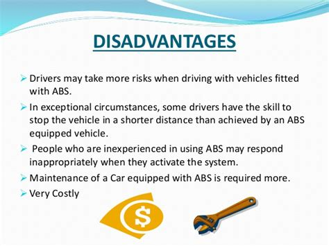 Abs Brake System Advantages Anti Lock Braking System