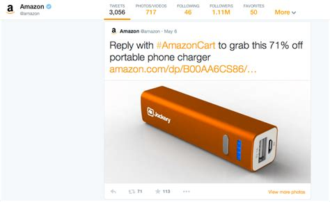 amazon twitter from tweet to treat with amazon cart make life lovely