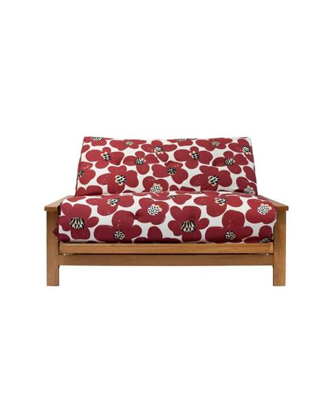 oak futon sofa bed cavendish oak 2 seat futon sofa bed free uk mainland