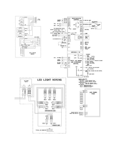 domestic refrigerator wiring diagrams domestic just