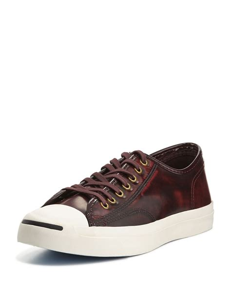 leather sneakers for converse purcell marbled leather sneakers in for