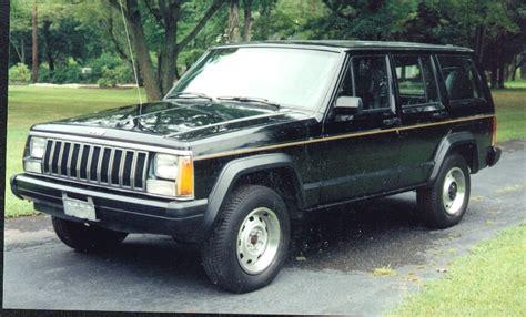 Jeep Xj History 1986 Jeep Xj Phase I 4 Door 4wd Specs And Html