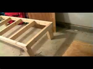 Washer Pedestal Diy Diy Washer Amp Dryer Stand Pt7 Youtube