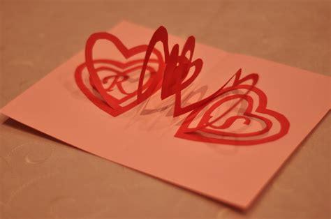 3d s day card template 手作りバレンタインカードの作り方いろいろ ハートが飛び出すポップアップカード interior design