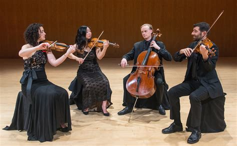 Arts String Quartet - chiara quartet hixson lied college of and