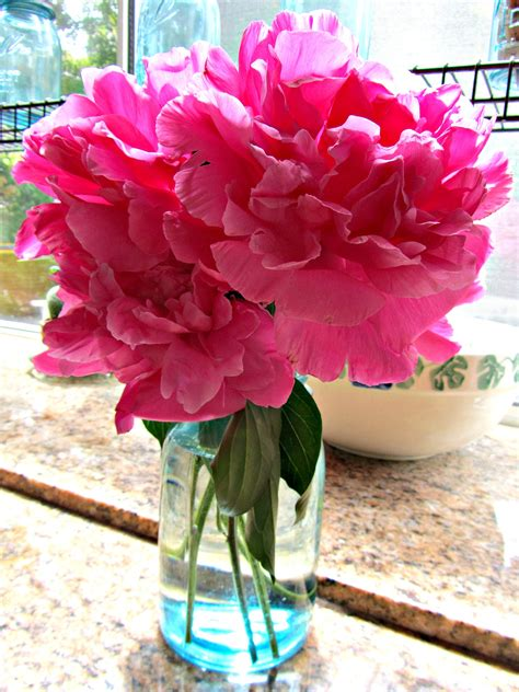 Peony Vase by Peony Vase At Home With Rebecka