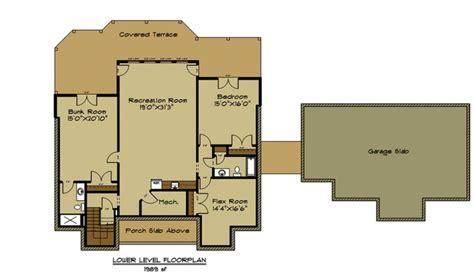 garage basement floor plans open house plan with 3 car garage appalachia mountain ii