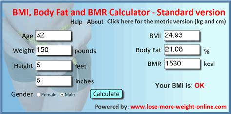 best bmi calculator height weight chart in meters and kilograms height