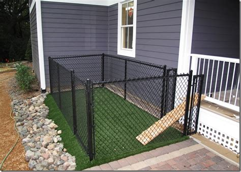 building a dog run in backyard the quot l quot shaped house landscaping the dog run