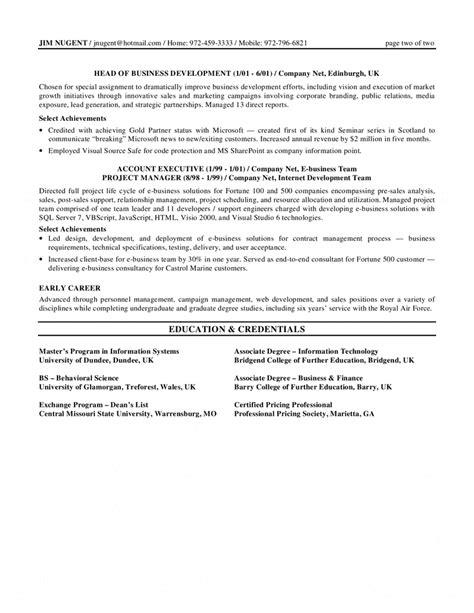 senior manager resumes resume template senior management resume