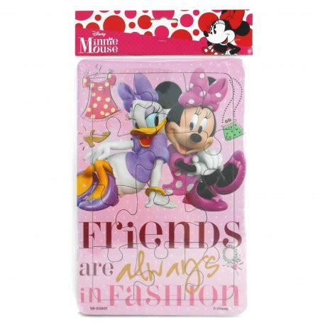 puzzle regular minnie mouse happy toko mainan