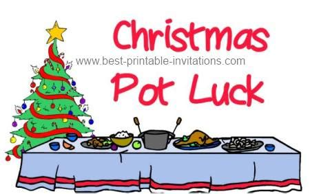 christmas potluck email invitation magnificent invitation potluck theruntime