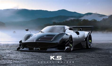 future pagani pagani huayra r rendering is a terrifyingly fast taste of