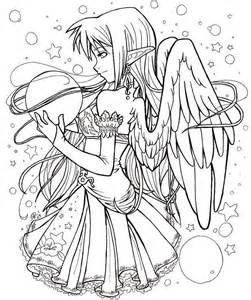 christmas coloring pages of angels download
