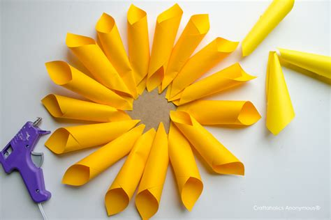How To Make Flowers Out Of Paper For - craftaholics anonymous 174 rainbow paper dahlia flowers