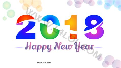 new year 2018 color new year 2018 images