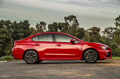 subaru wrx cvt 2015 subaru wrx cvt side profile photo 4