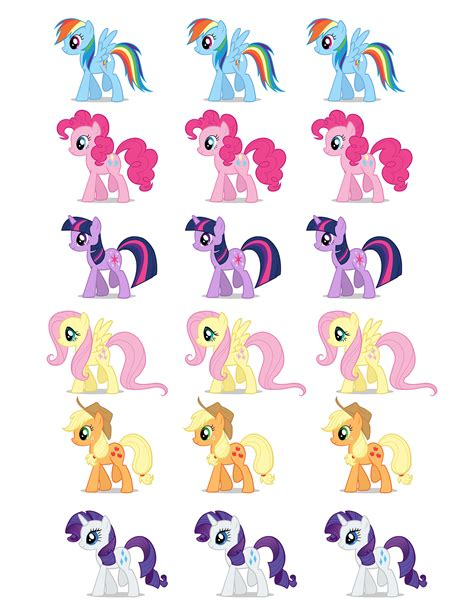 My Little Pony Printable Party Decorations | free printable party goods dani s 8th birthday my little