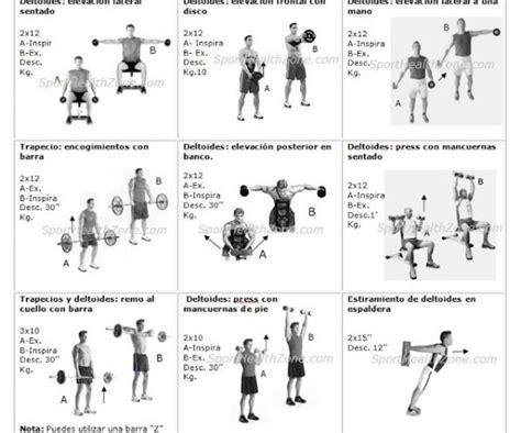 Tabla De Ejercicios Con Mancuernas 2015 Para Principiantes | tabla de ejercicios con mancuernas 2015 para principiantes