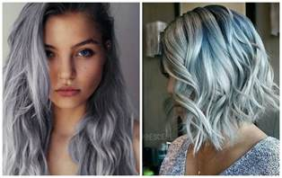 grey hair color trend grey hair colour trends 2 brown hairs