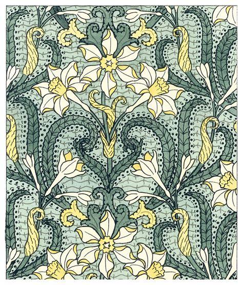 pattern in art nouveau art nouveau pattern wallpaper pinterest