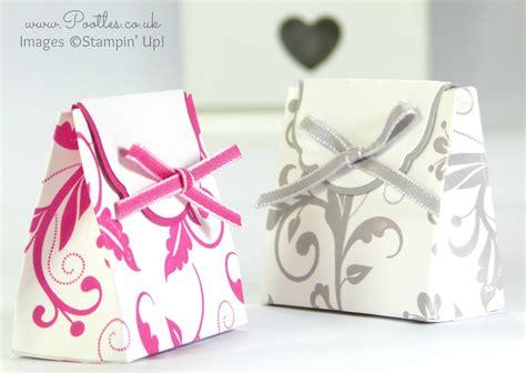 wedding box tutorial wedding favour box tutorial using stin up supplies