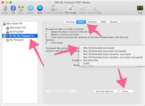 format hard drive mac os x extended journaled how to get external hard drive to work with mac os x
