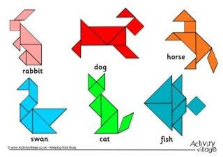 printable tangram activity sheets website to find tangram shape worksheets a great activity