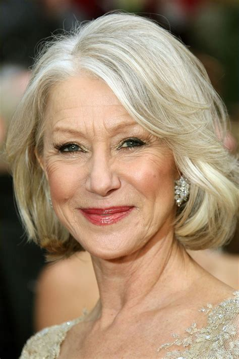 hairstyles for women with lots of wrinkles on forehead helen mirren newdvdreleasedates com