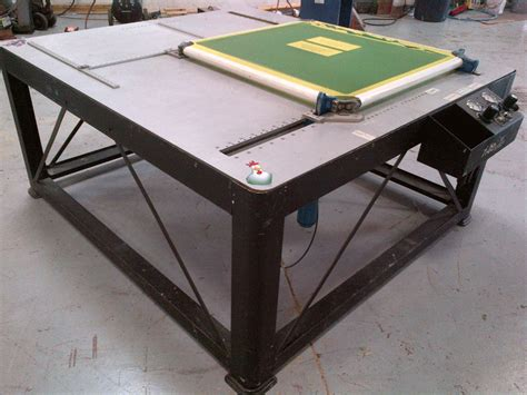 stretching table newman m6 frames stretch table