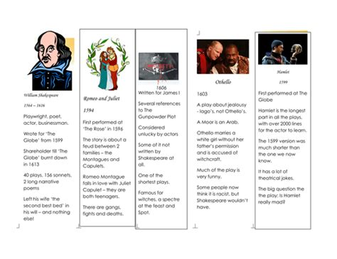 printable version of macbeth printable shakespeare bookmarks templates by gruoch