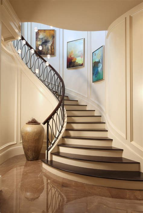 Curved Stairs Design 18 Palatial Mediterranean Staircase Designs That Redefine Luxury