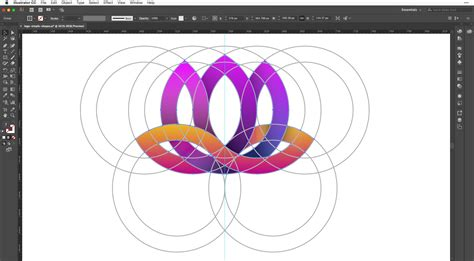 logo tutorial in adobe illustrator create a flower logo in adobe illustrator cc vectortwist