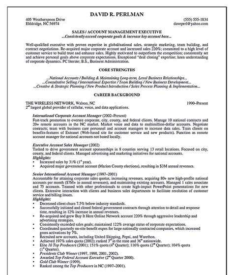 special microsoft account manager resume account manager resume
