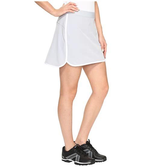 White Basic Flip Skort nike golf fringe flip skort solid at zappos
