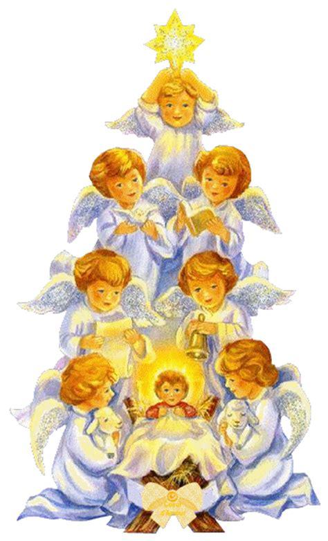 imagenes animadas de navidad angeles noel hiver voeux page 3