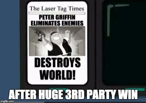 Lazer Tag Meme - peter griffin laser tag imgflip